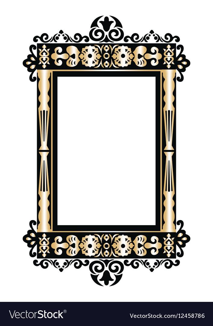Baroque Rococo frame decor