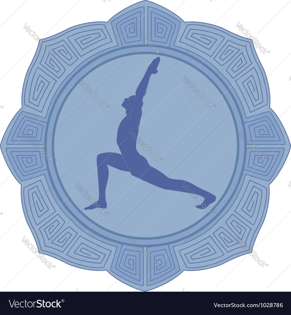 Man yoga