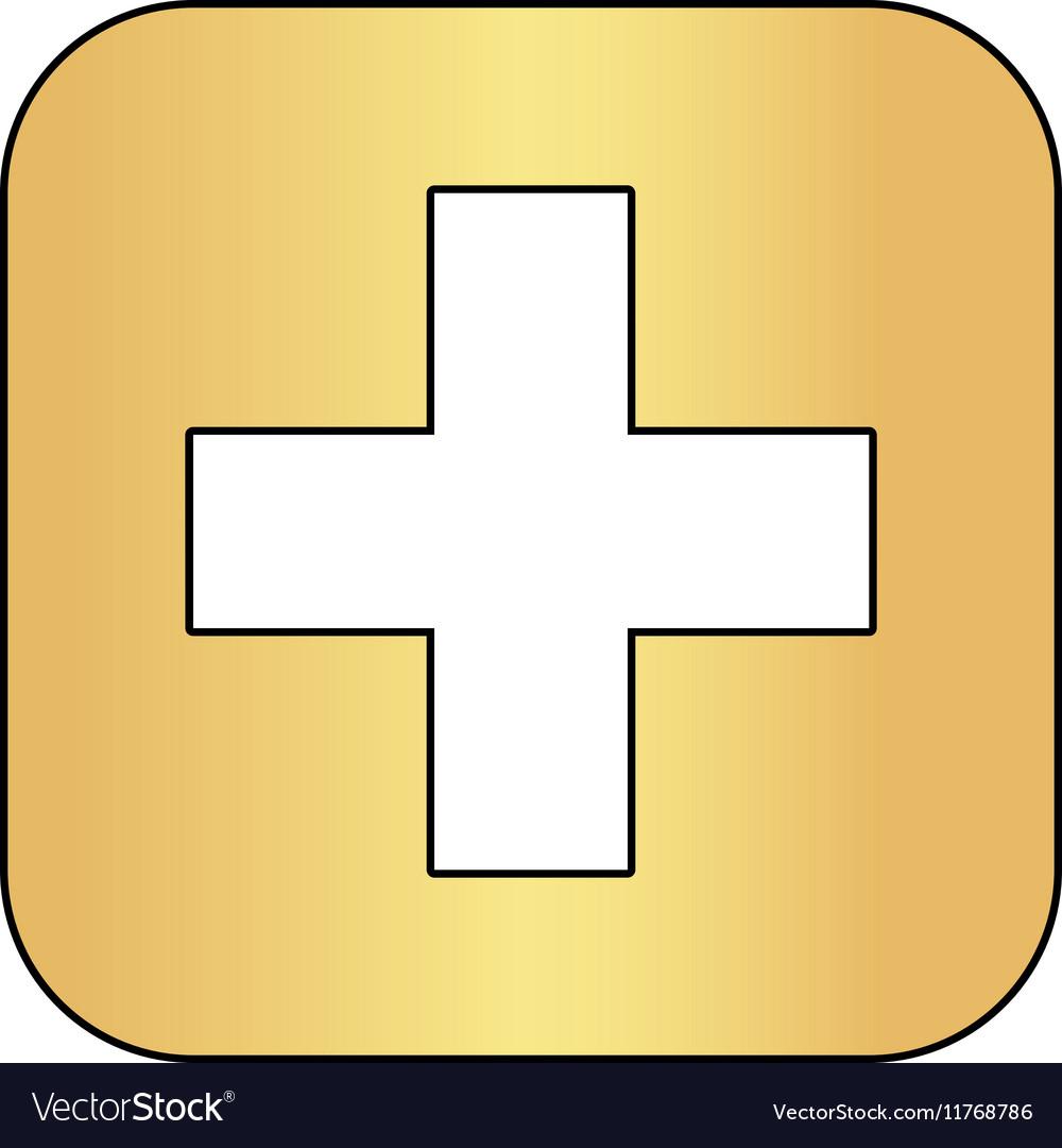 Medicine computer symbol