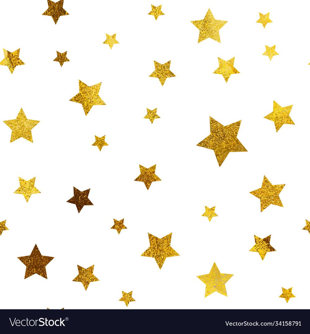 Gold christmas glitter sparkles stars geometric