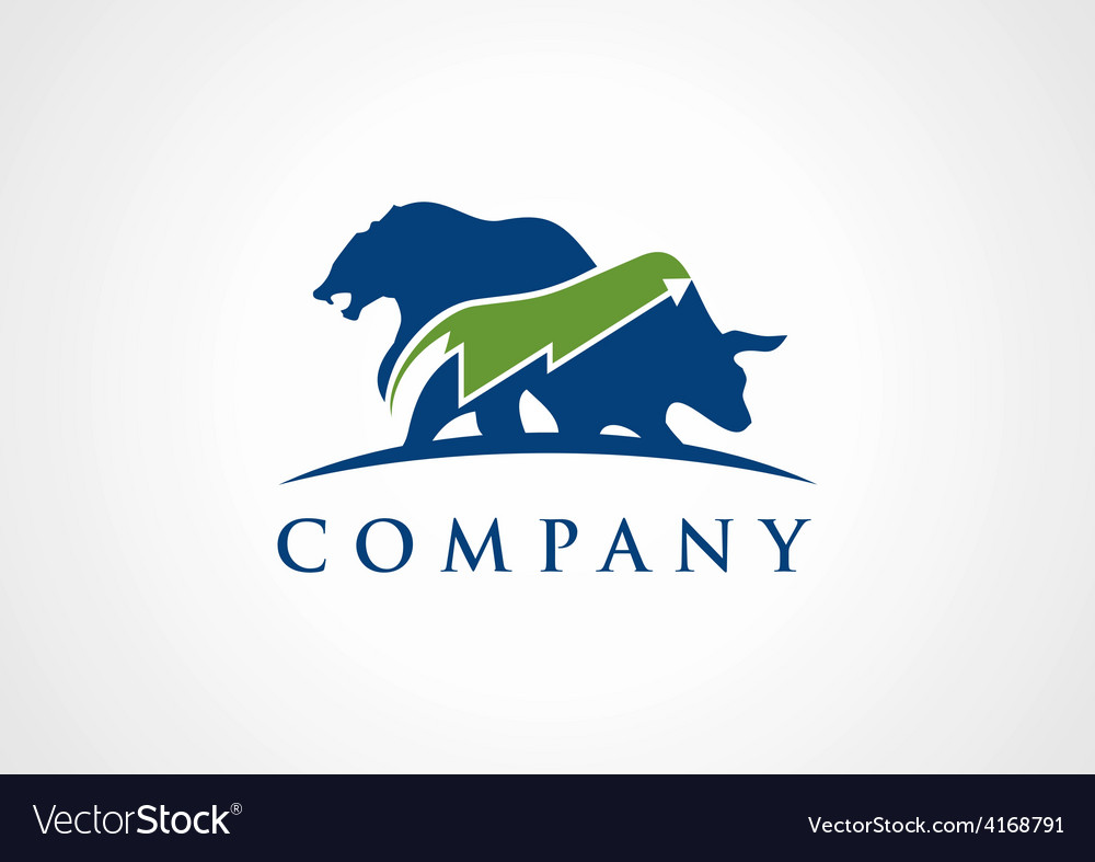 Trading logo Royalty Free Vector Image - VectorStock