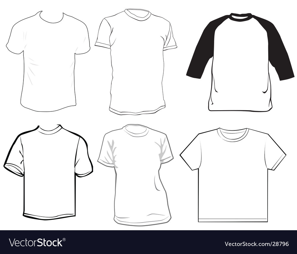 Clothes Template Vector Image