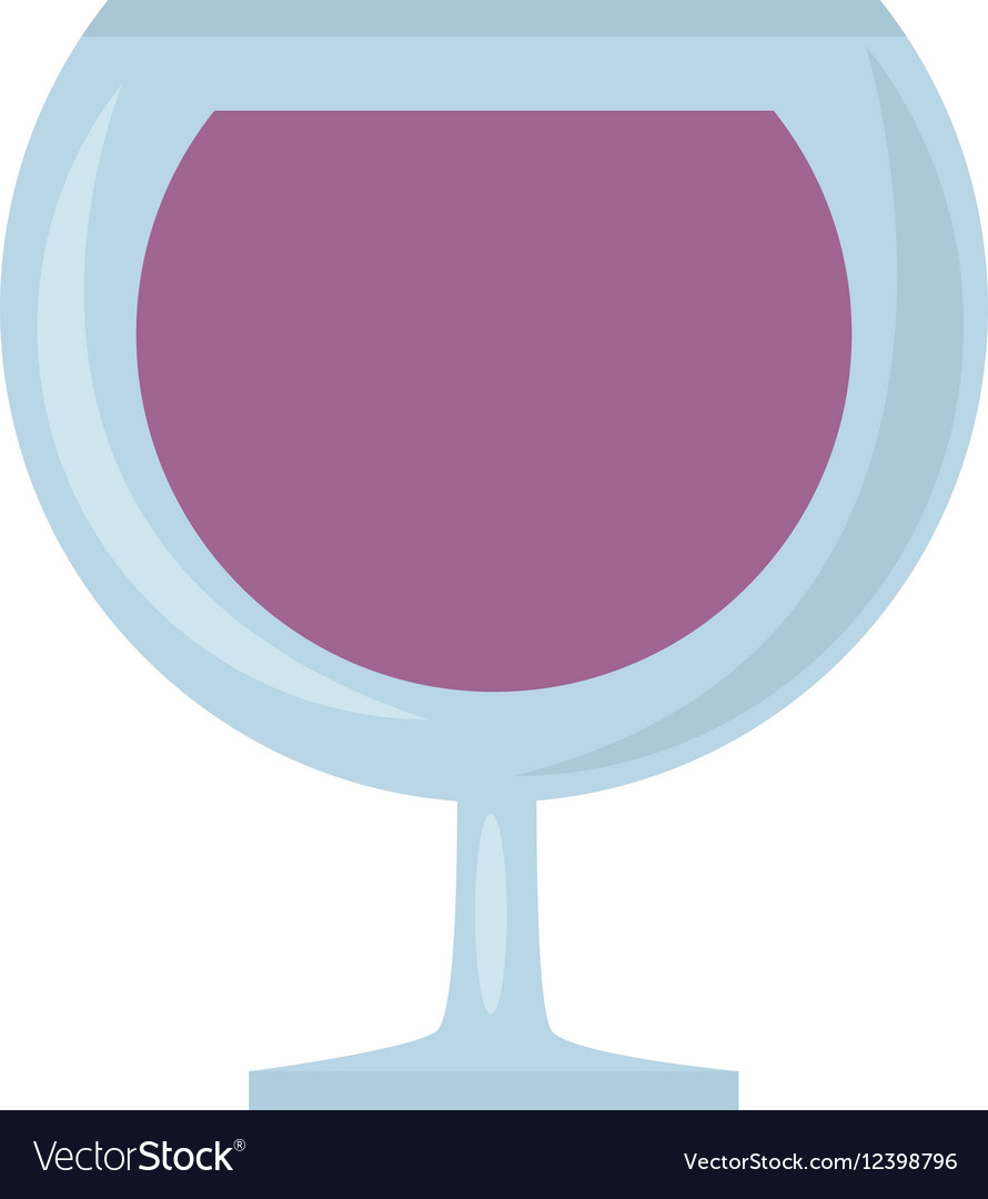 Glass cup cognac beverage