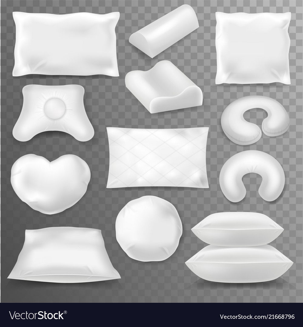 Pillow soft pillow-block with white