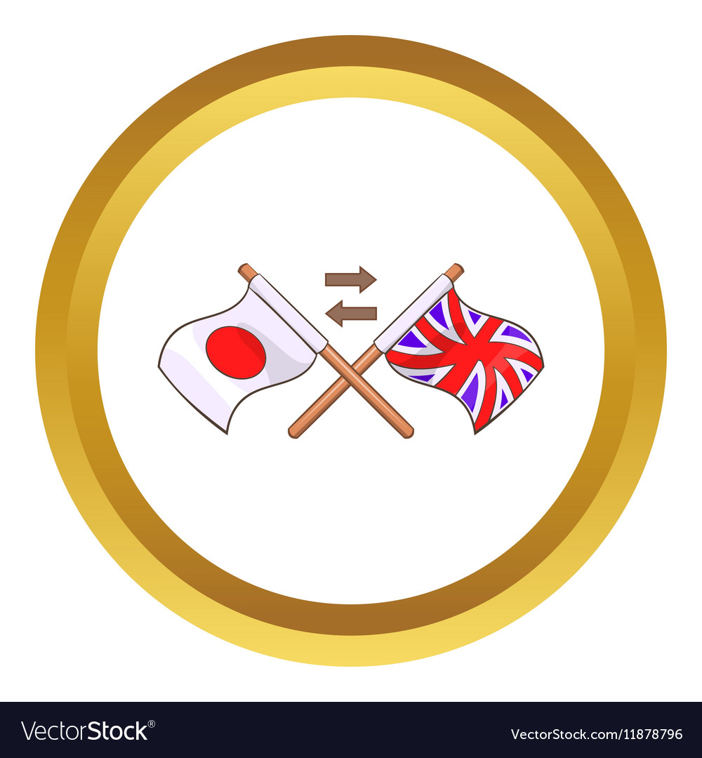 Translation to english icon vector image