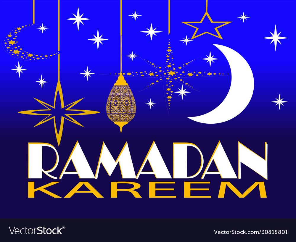 Ramadan kareem greeting card ramadan kareem