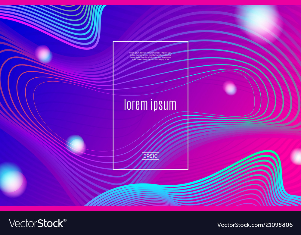 Abstract background - dynamic wave linear shape