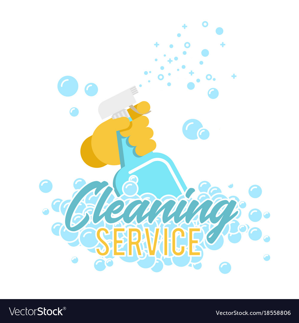 cleaning services logo vector free download