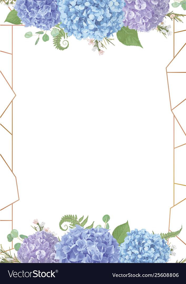 Decorative golden rectangular frame withleaves