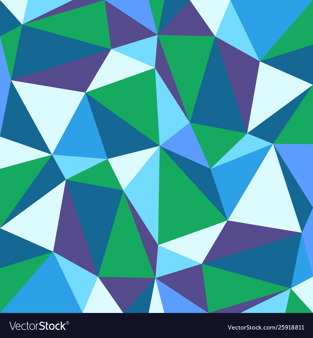 Abstract background with colorful triangless