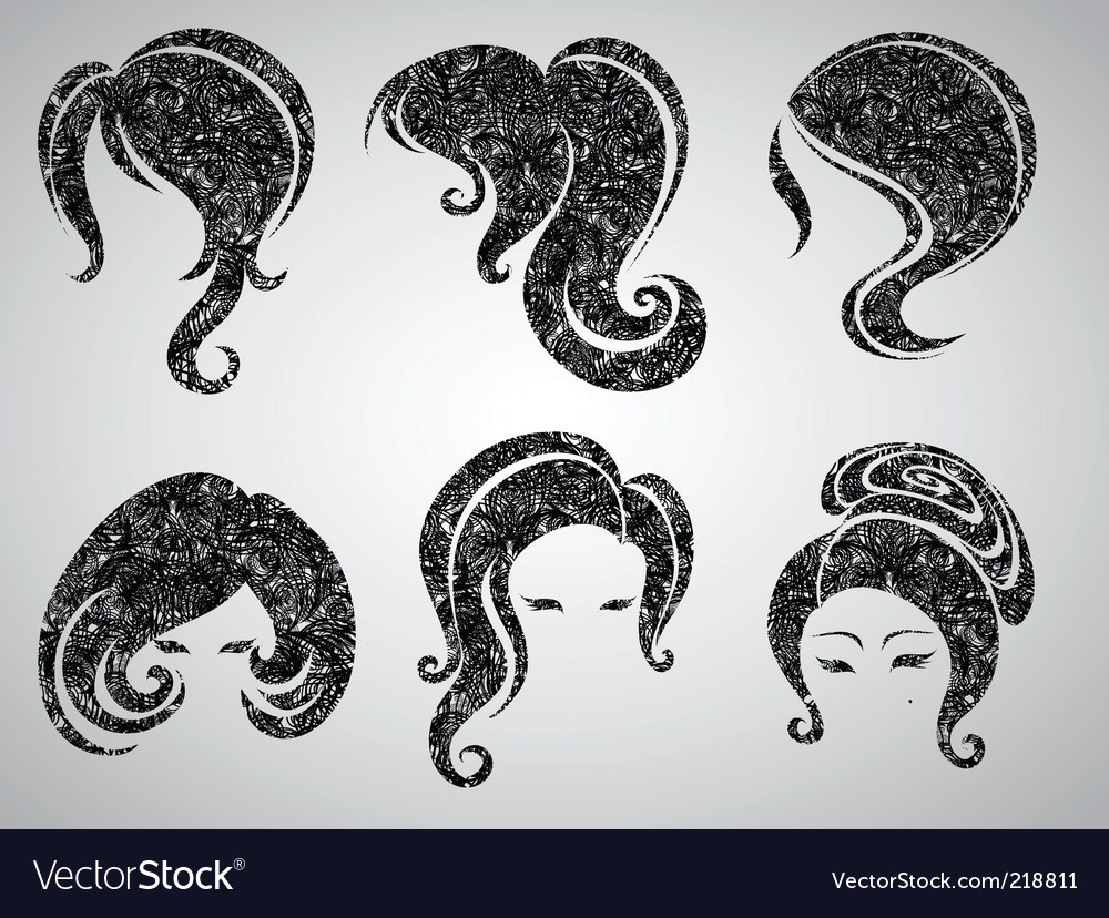Womans hair