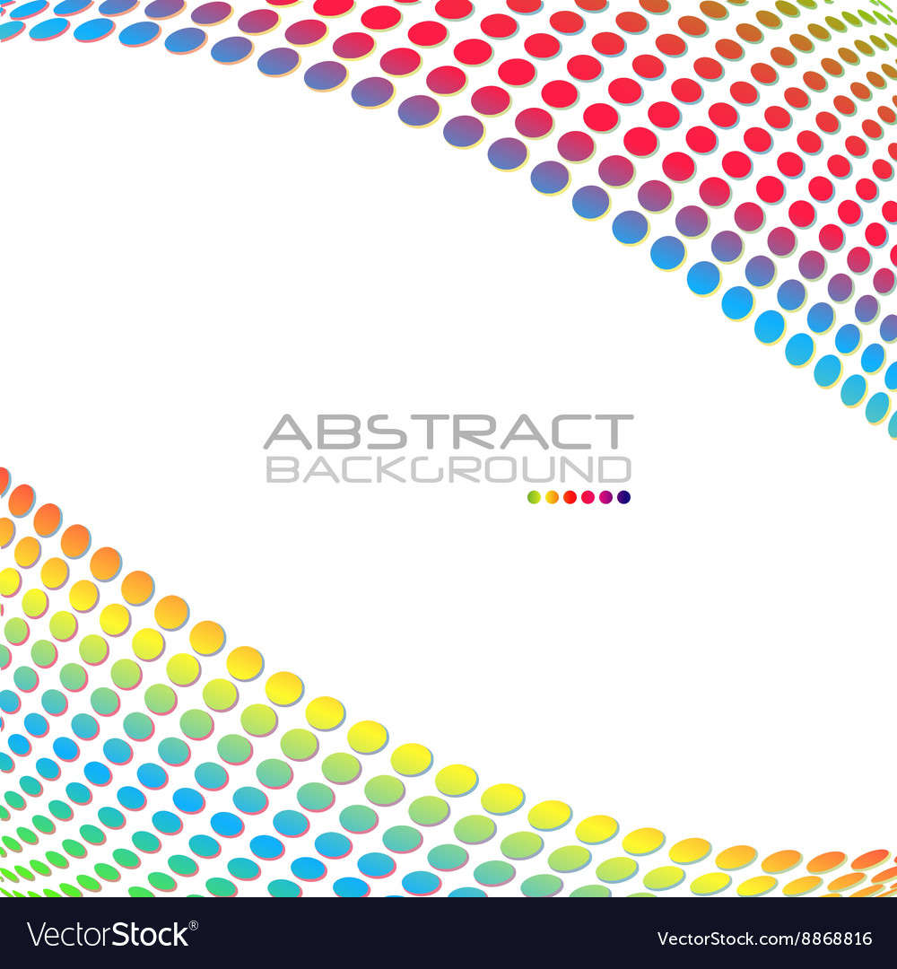 Abstract rainbow color background for your