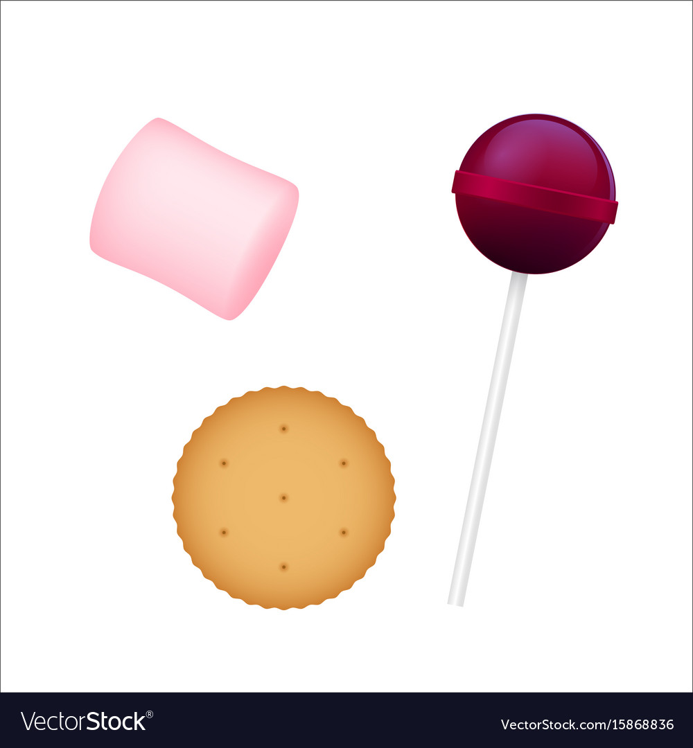 3d colorful chupa chups marshmallow
