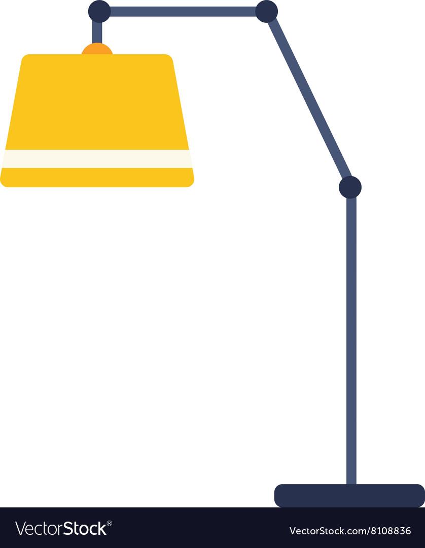 Floor Lamp Royalty Free Vector Image