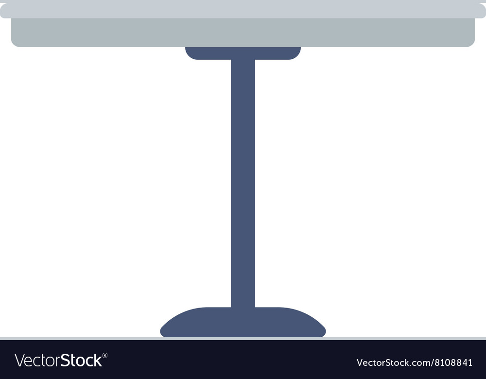 Round bar table royalty free vector image vectorstock round bar table vector image watchthetrailerfo