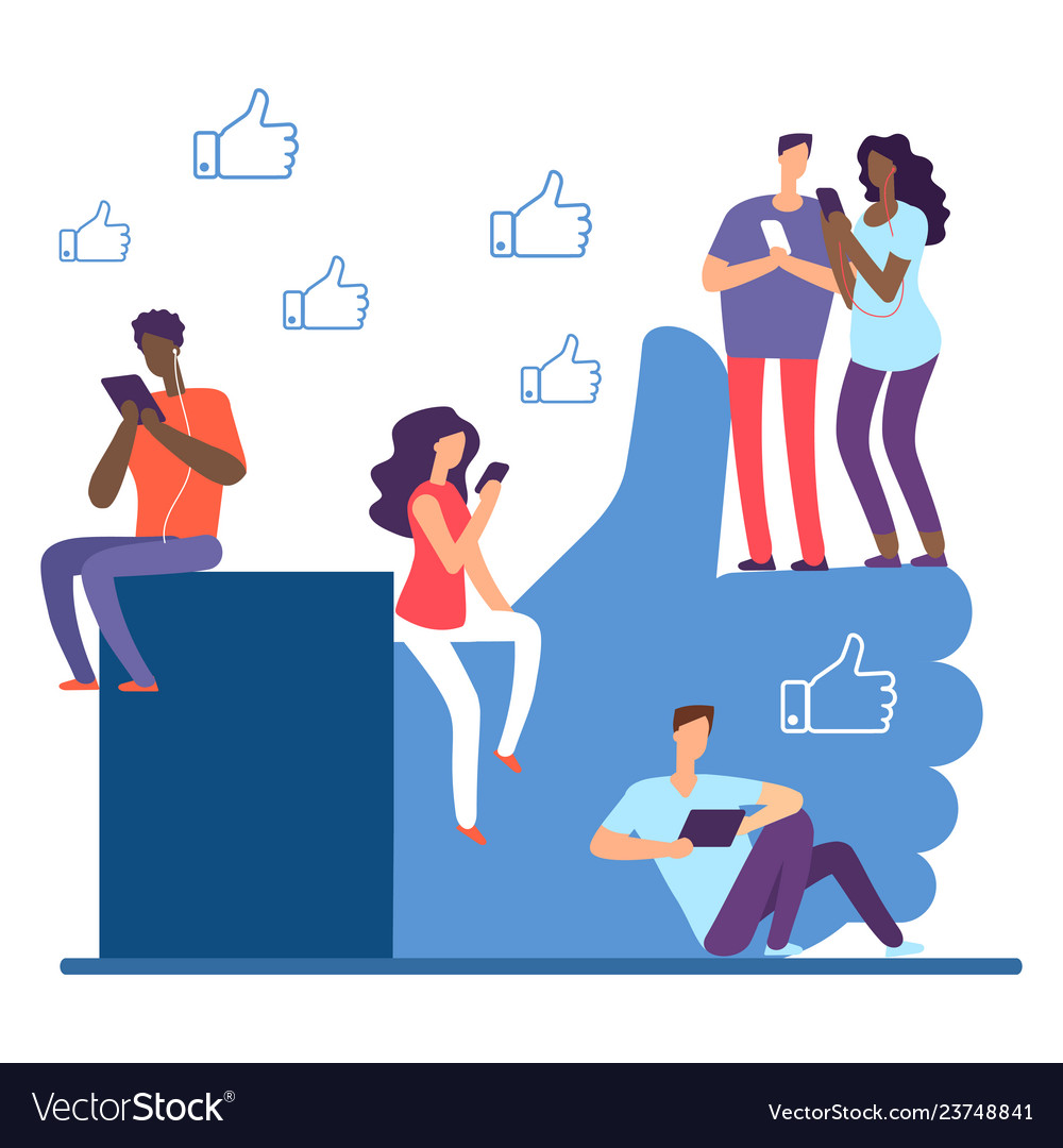 Social network and international people like it