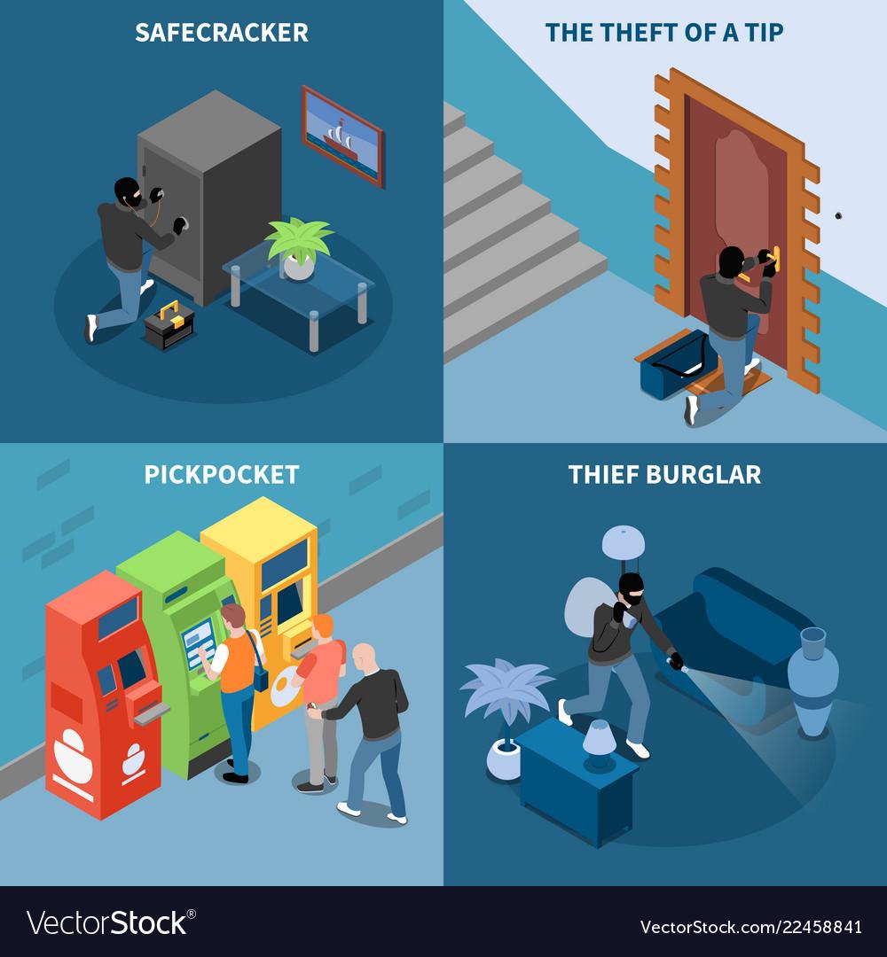 Thief isometric design concept