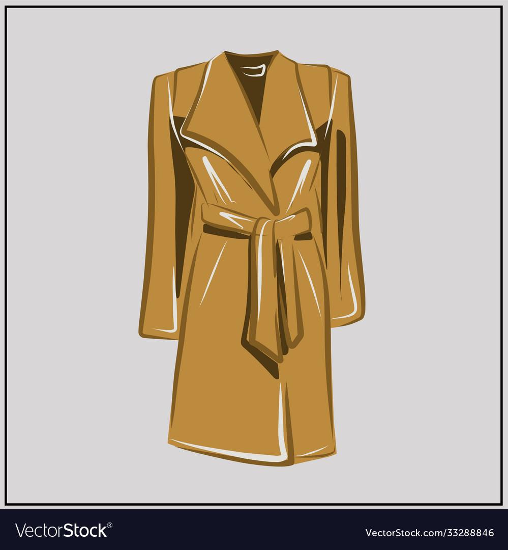 Beige autumn coat oversize fashion basic