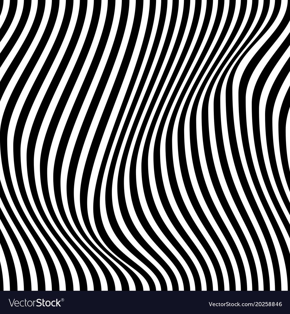 Optical black and white design