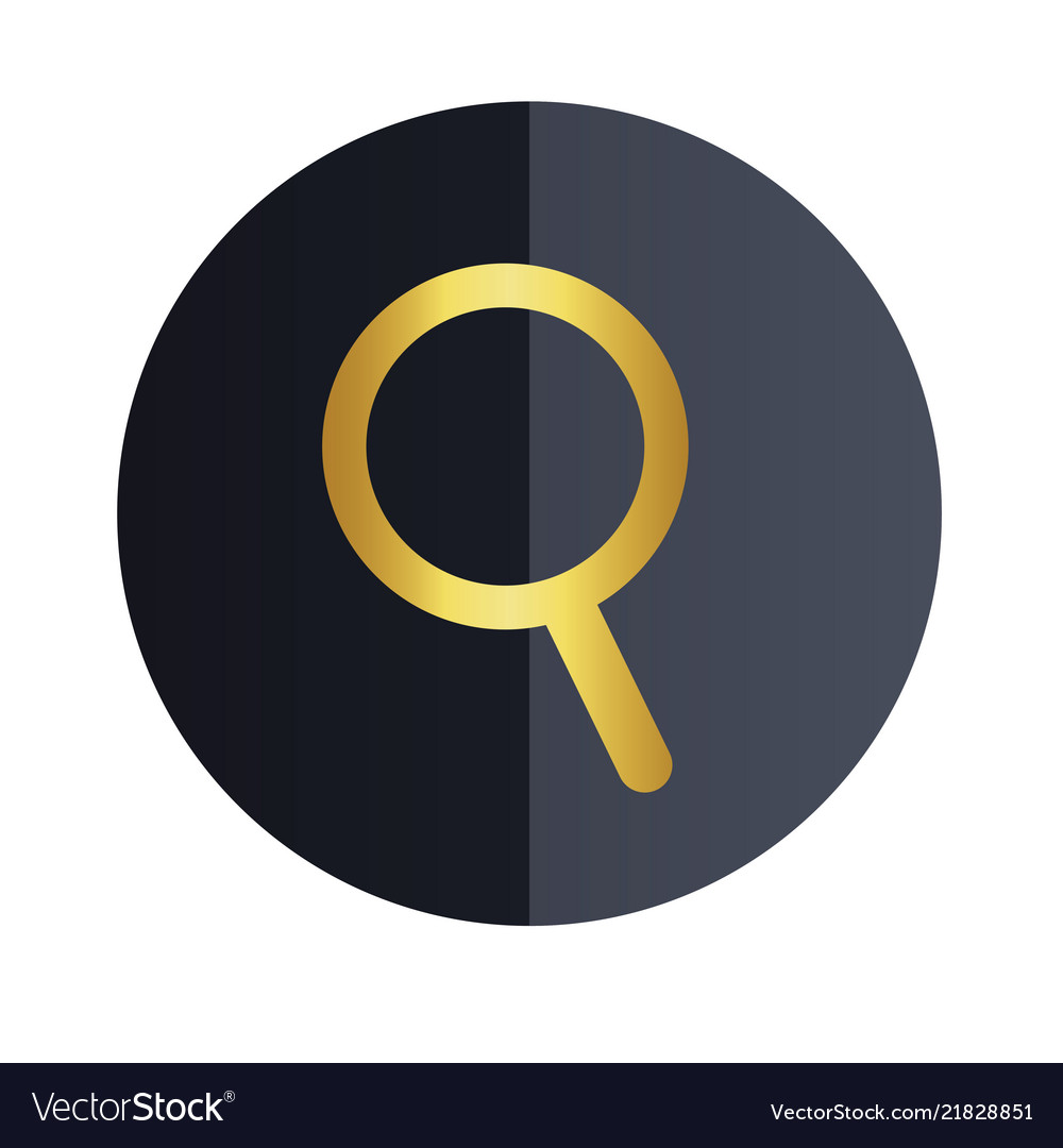 Search icon black circle background image