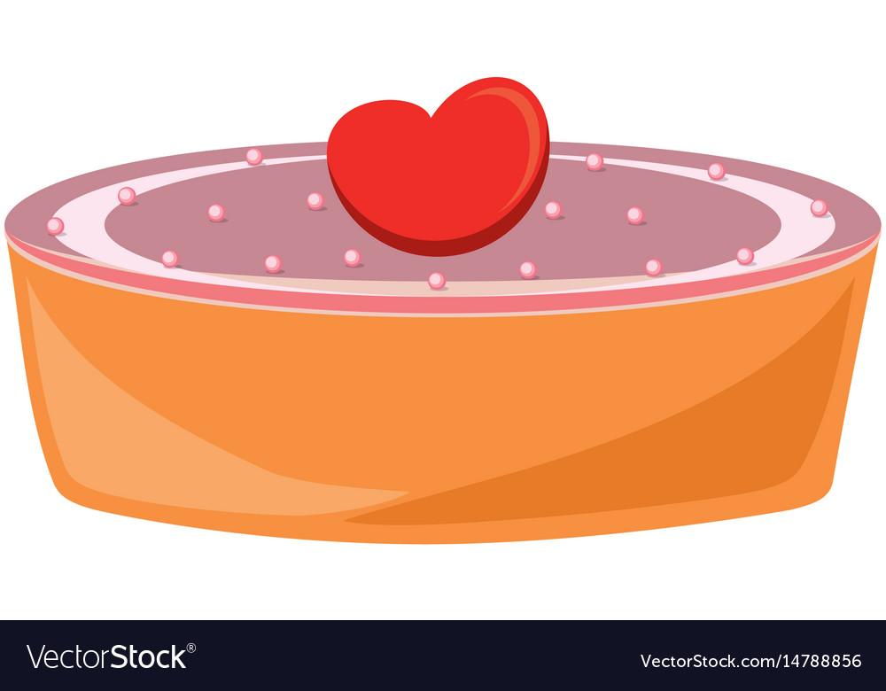Cake icon image vector image