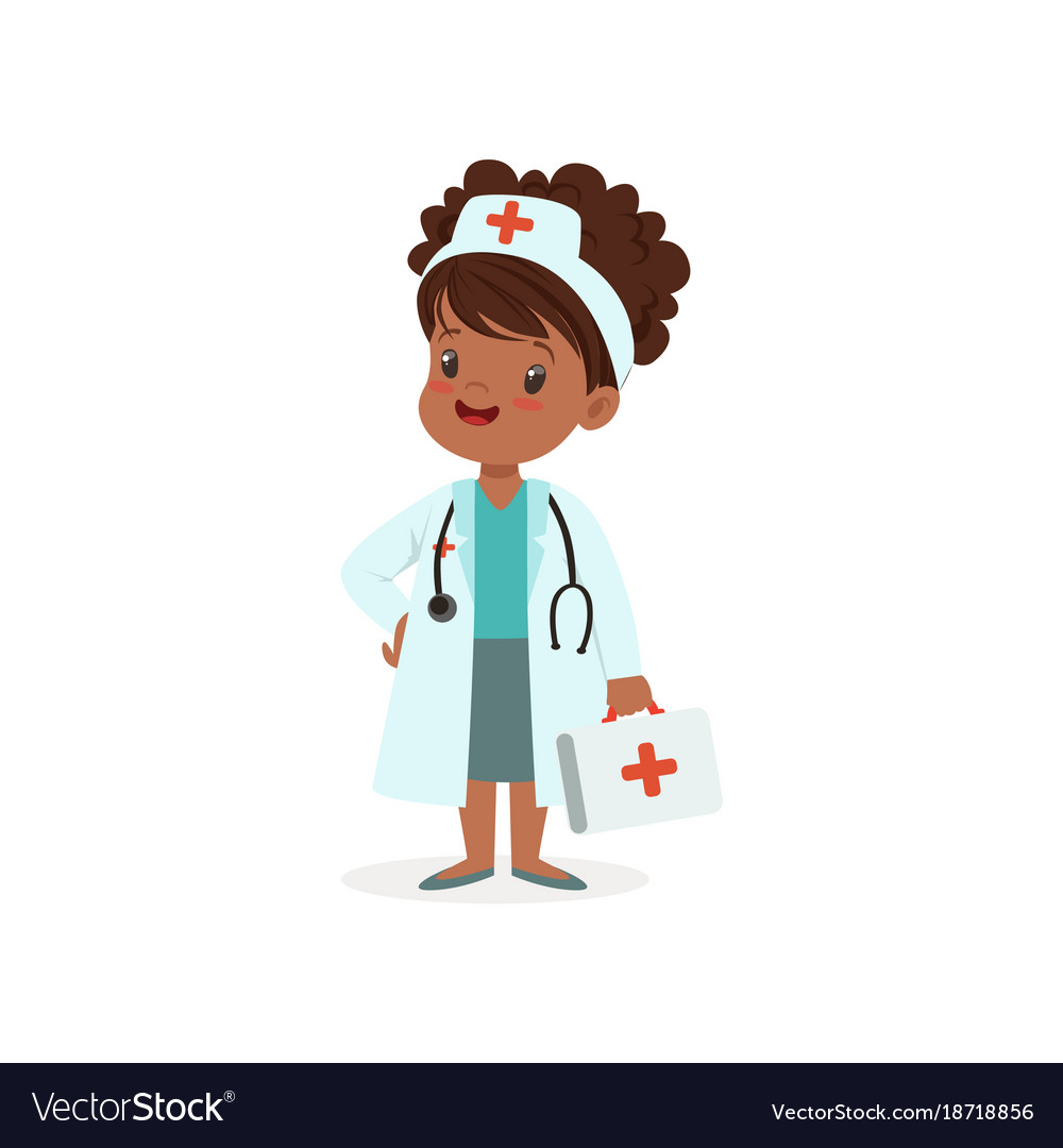 Girl character think of joining medical profession