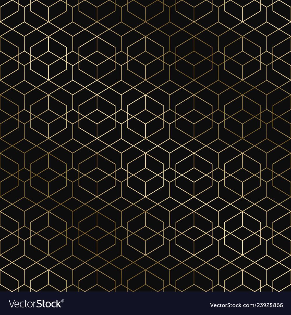 Art deco geometric pattern - seamless
