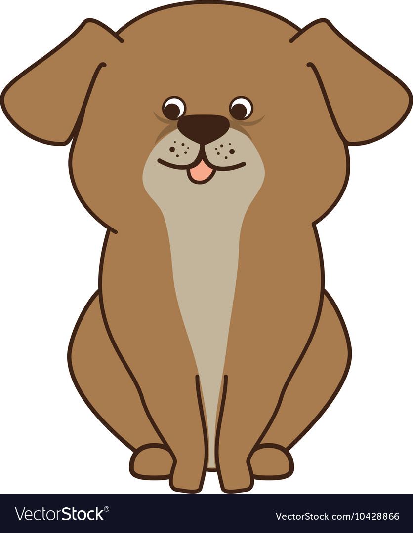 Dog cartoon animal