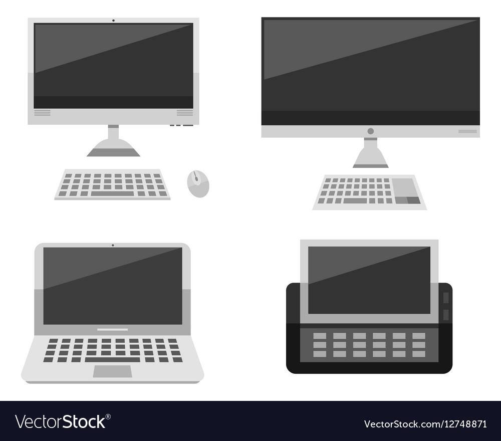 Computer laptop network and desktop technology