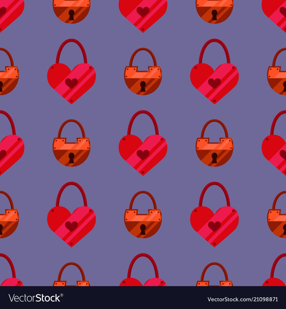 House door lock seamless pattern background