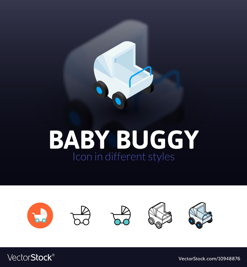 Babuggy icon in different style