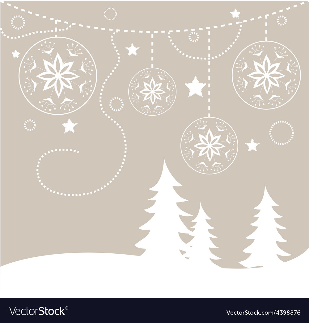Chirstmas card background