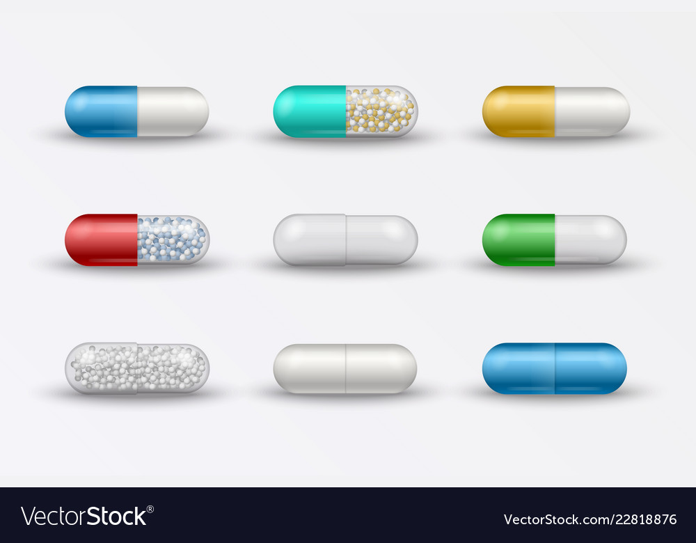 Medical pills tablets capsules