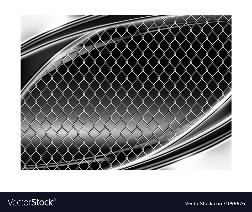 Wire mesh black background