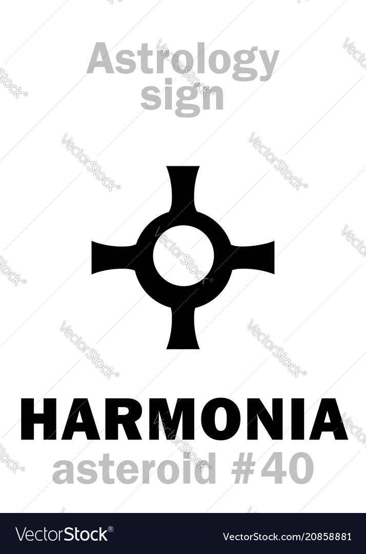 Astrology asteroid harmonia