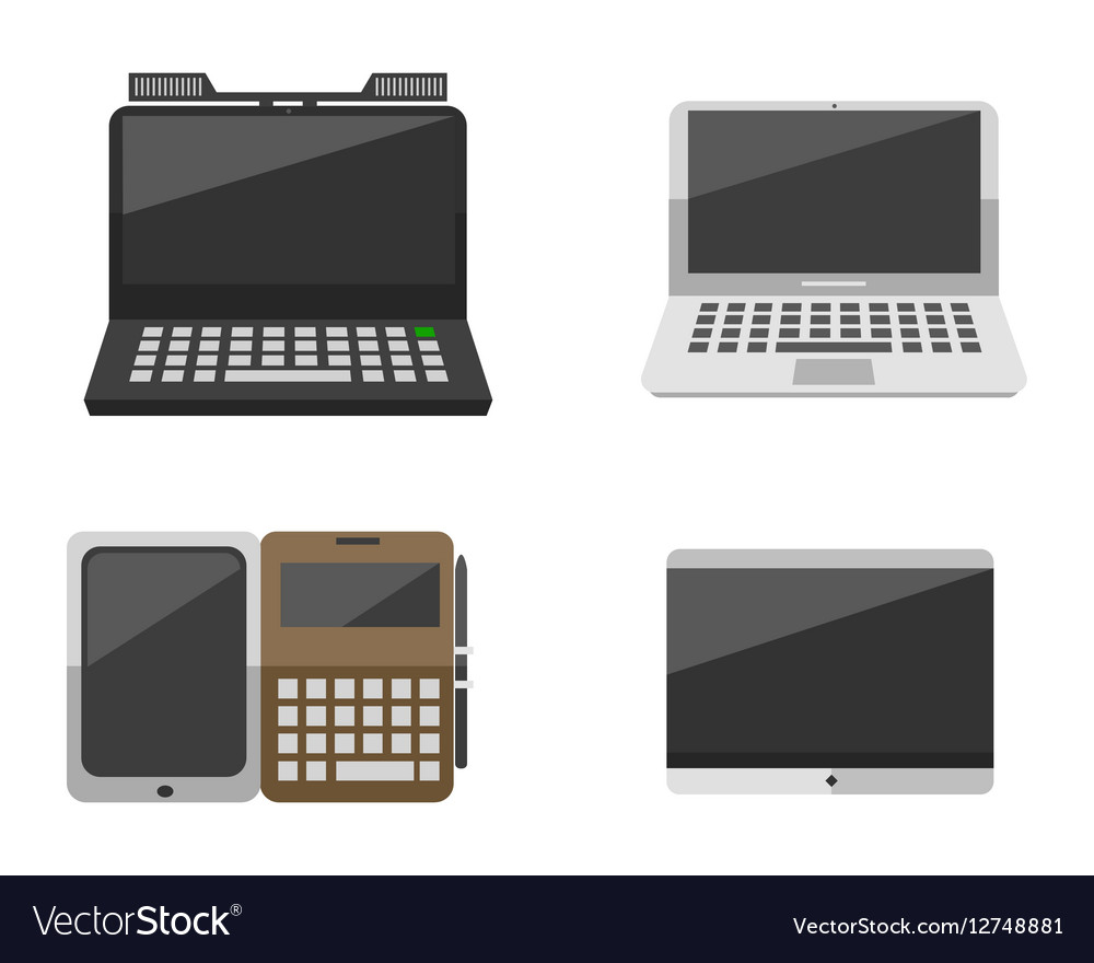 Computer laptop network and tablet technology