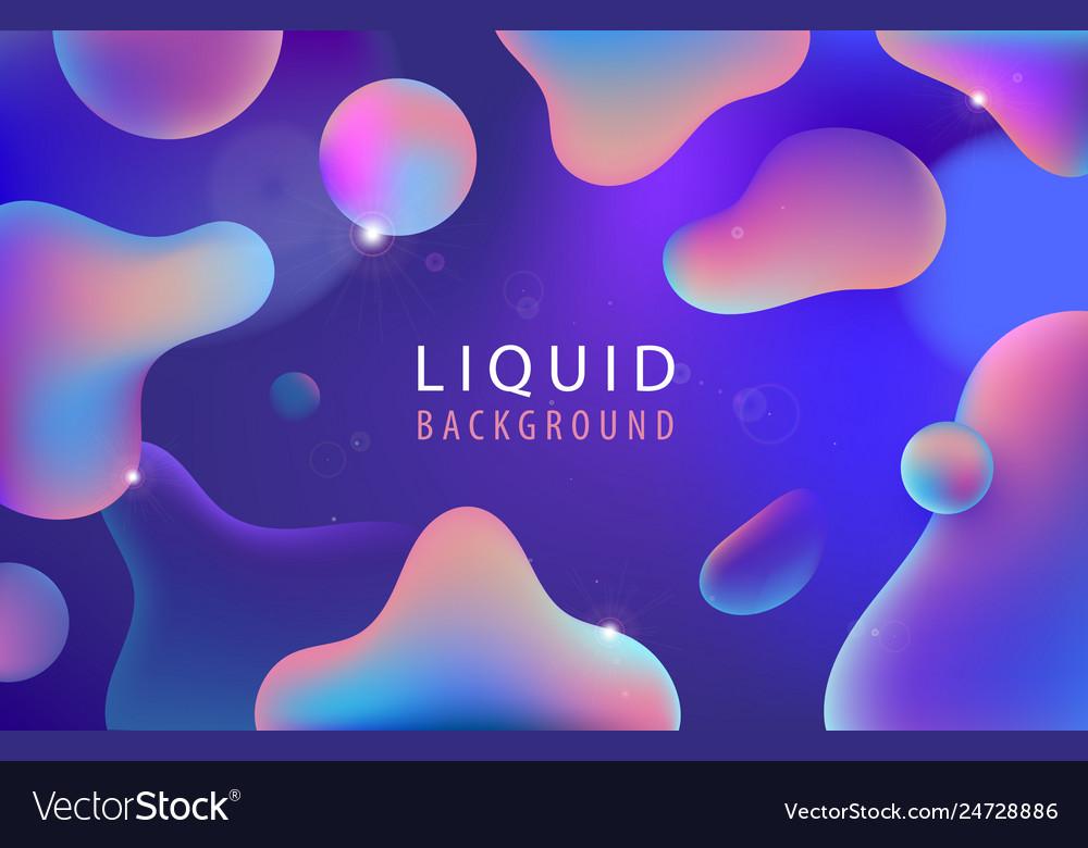 Abstract liquid flow background fluid
