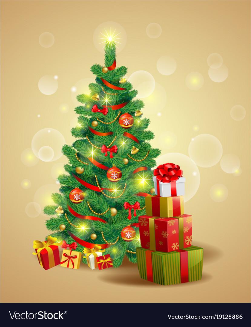 Christmas festive backgroung