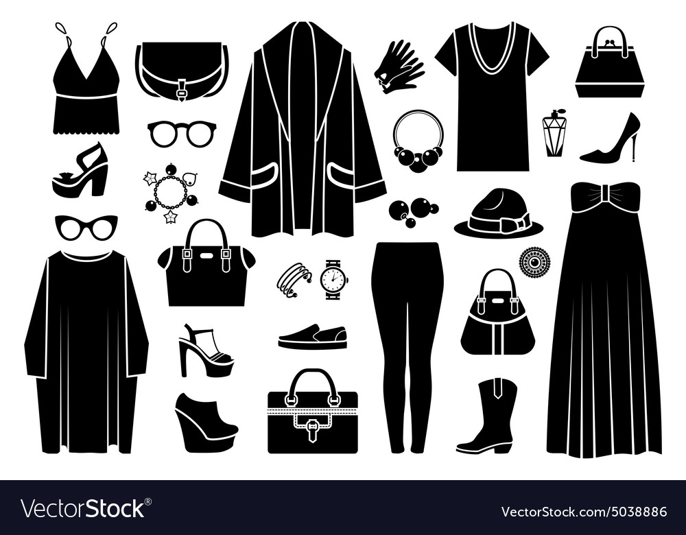 Fashion icons Clothing and accessories