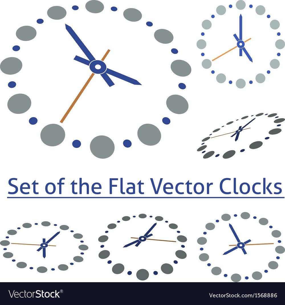 Flat Clocks