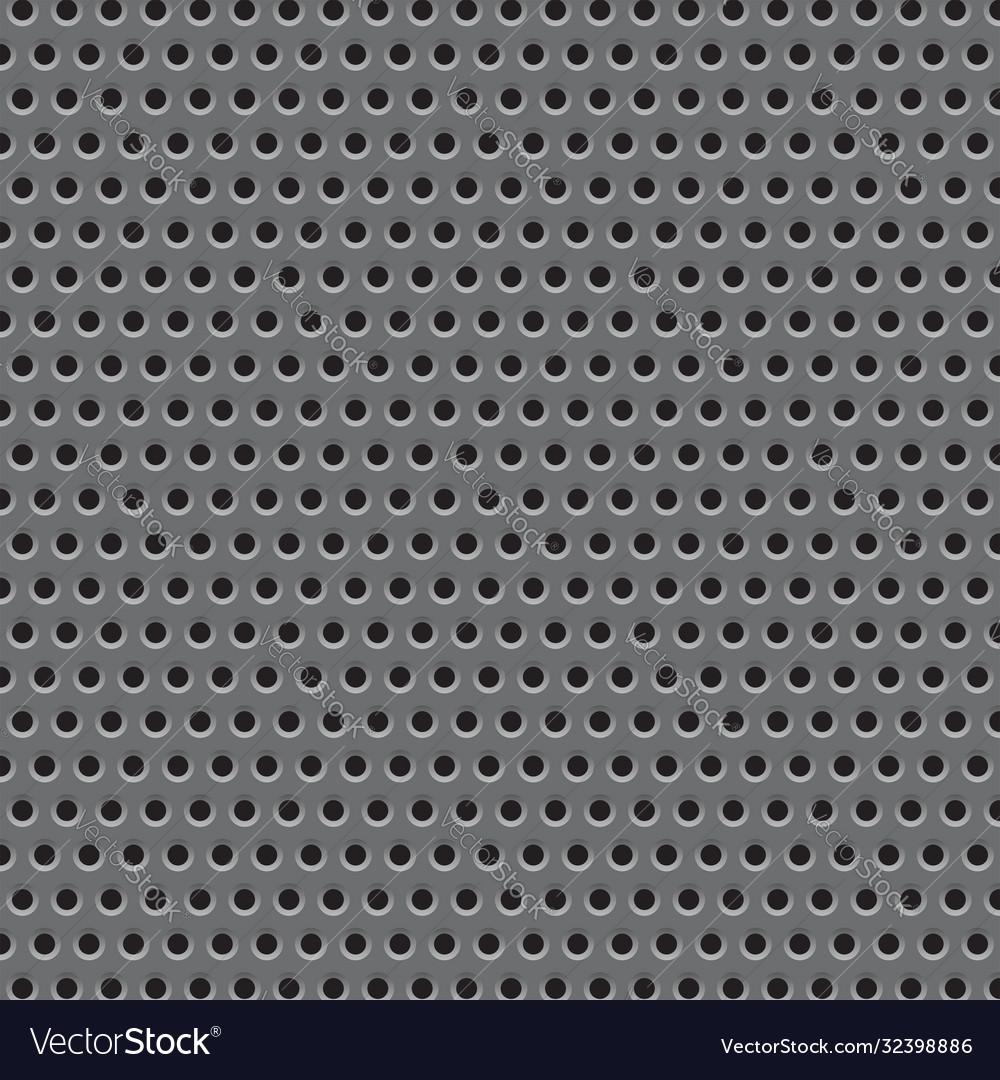 Metal plate grid texture
