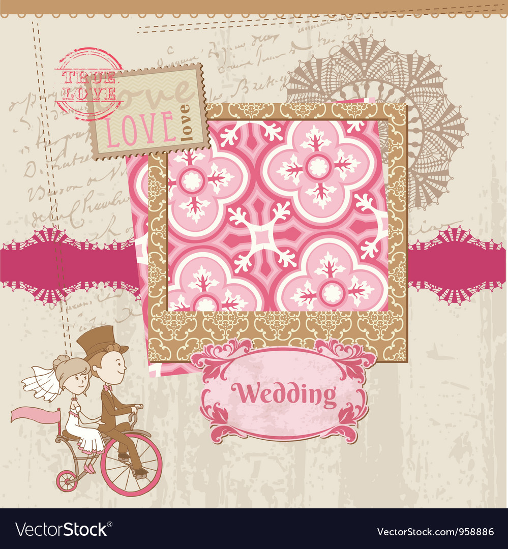 Wedding Scrapbook Card