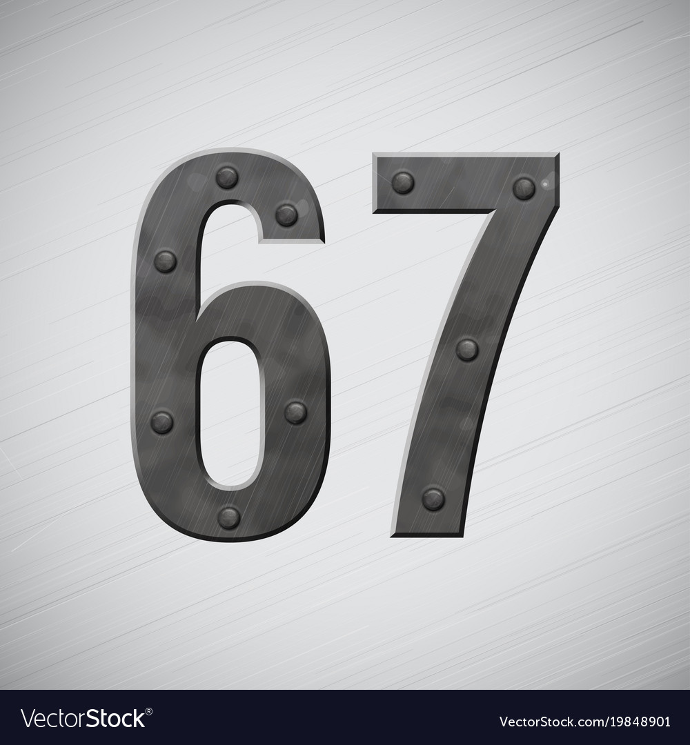 Metal numbers 6 and 7