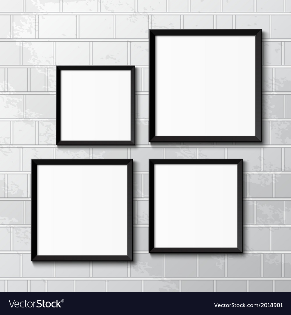Realistic picture frames