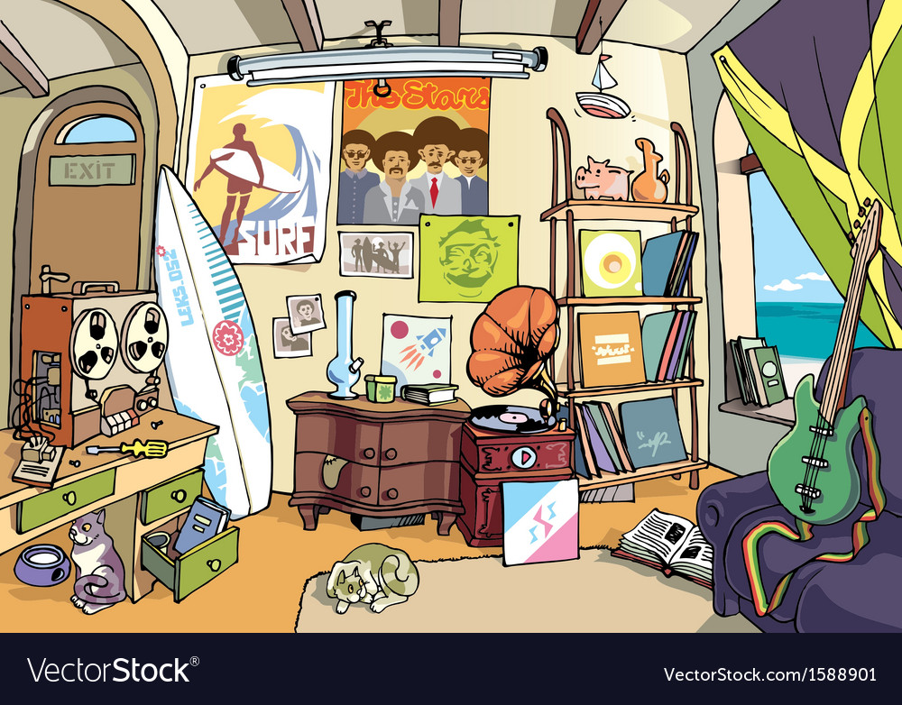 Room of a Surfer