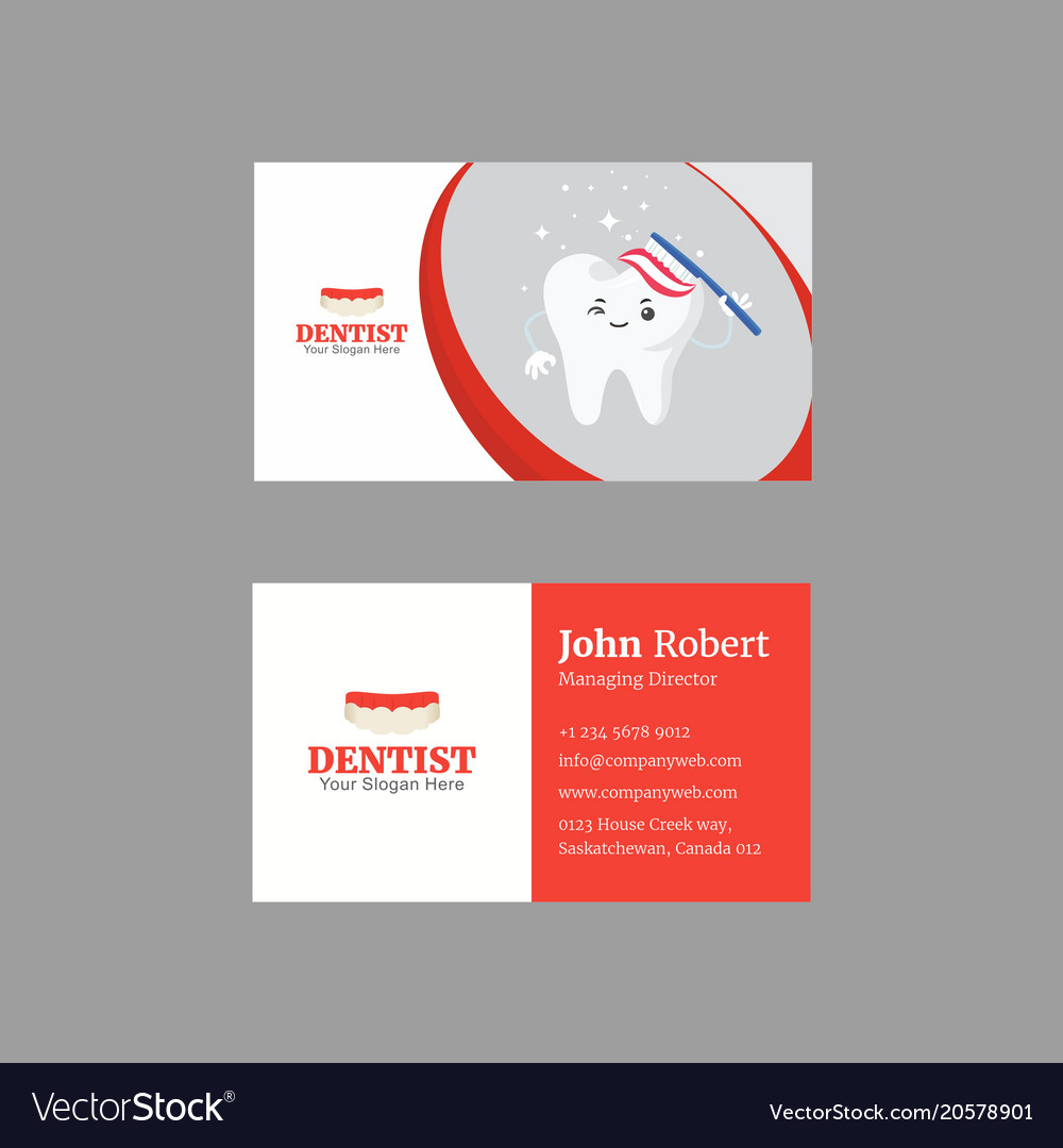Sophisticated business card design with duotone Vector Image