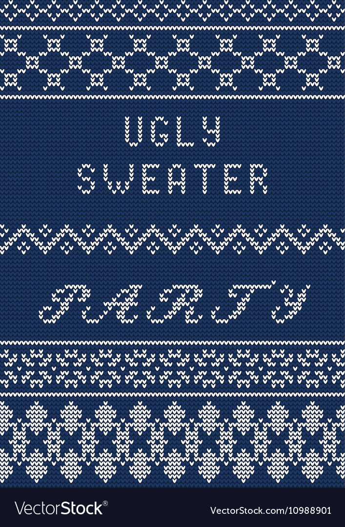 Ugly sweater template