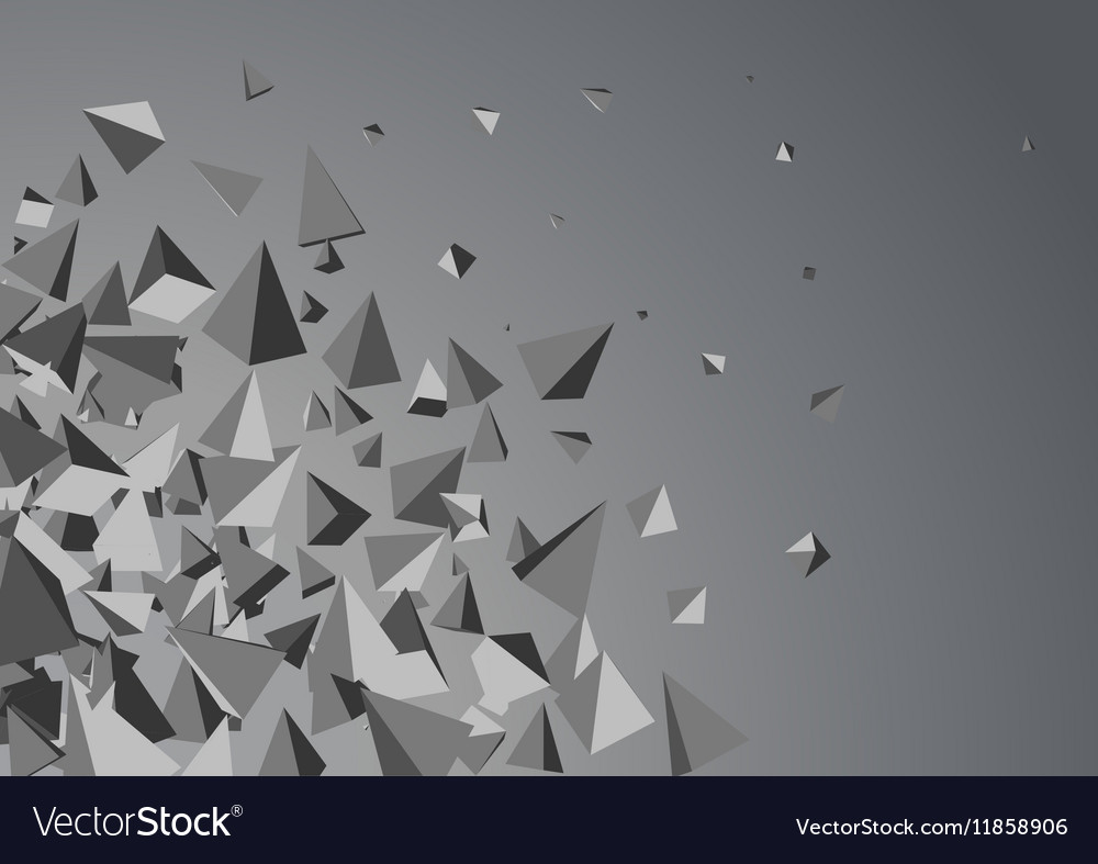 Abstract triangles space