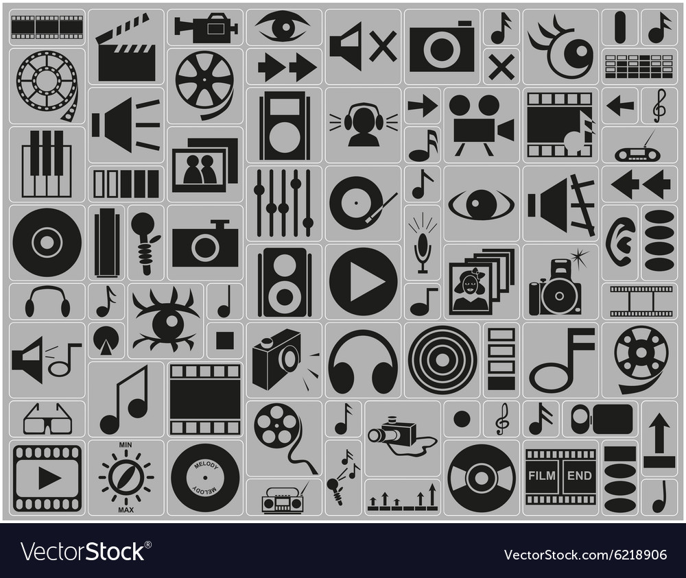 Music video photo icons