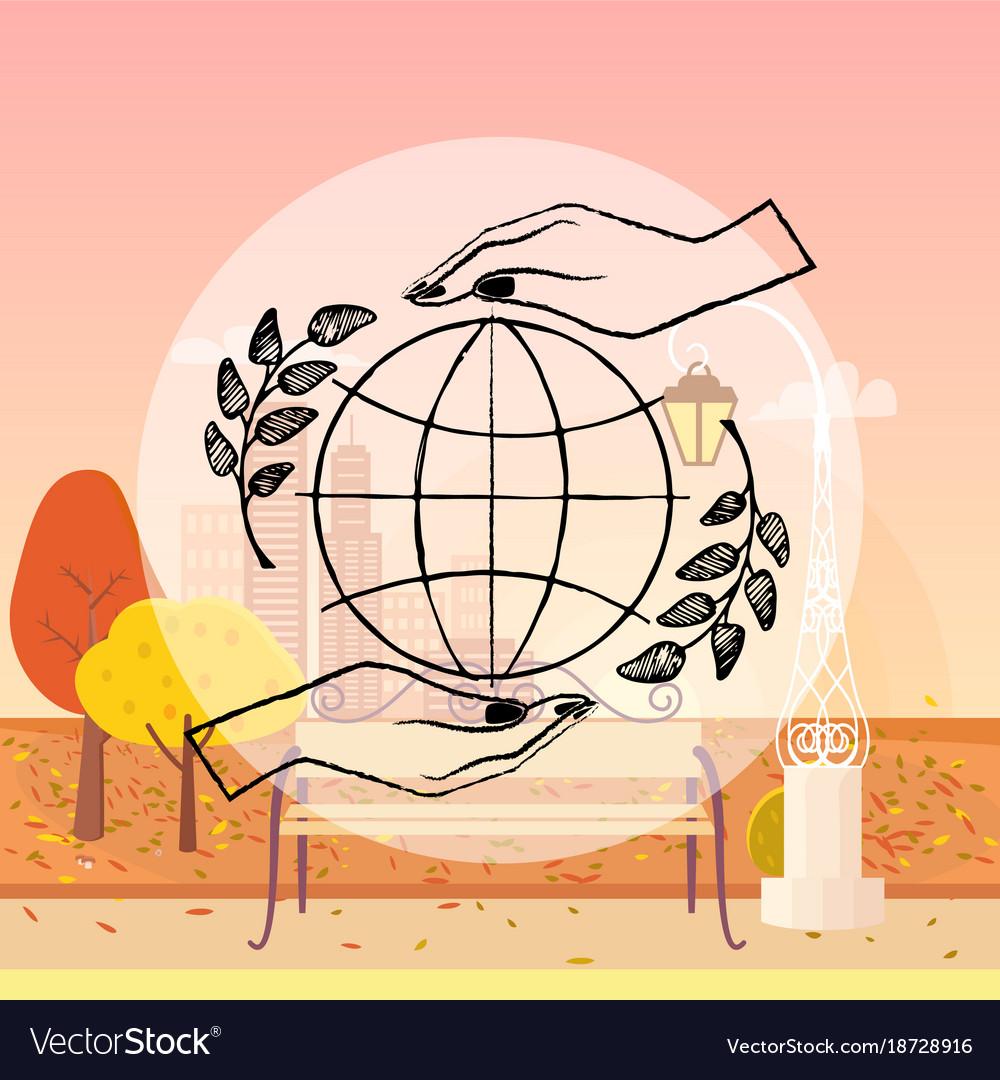 International peace day autumn